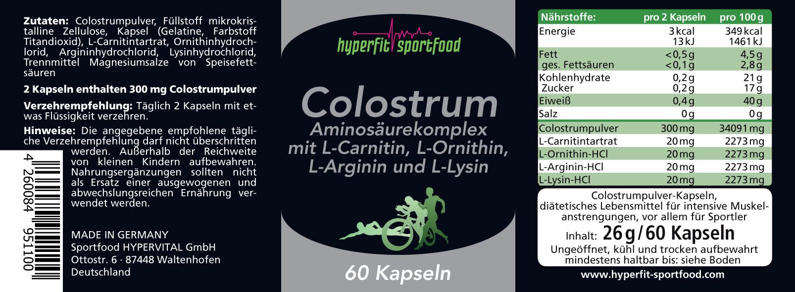 Colostrum-Info