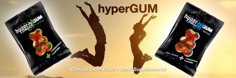 Hypergum, L-Carnitin-Gummibärchen, Magnesiumgummibärchen
